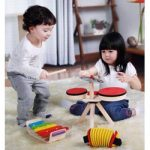 Children's musical instruments & musical play help child development.Music helps kids engage with people & environment.Birth to 6 are the most crucial years - MyScallywag