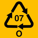 "Recycle symbol. Other plastics. If present with ""PC"", that indicates polycarbonate. Polycarbonate is made using BPA."