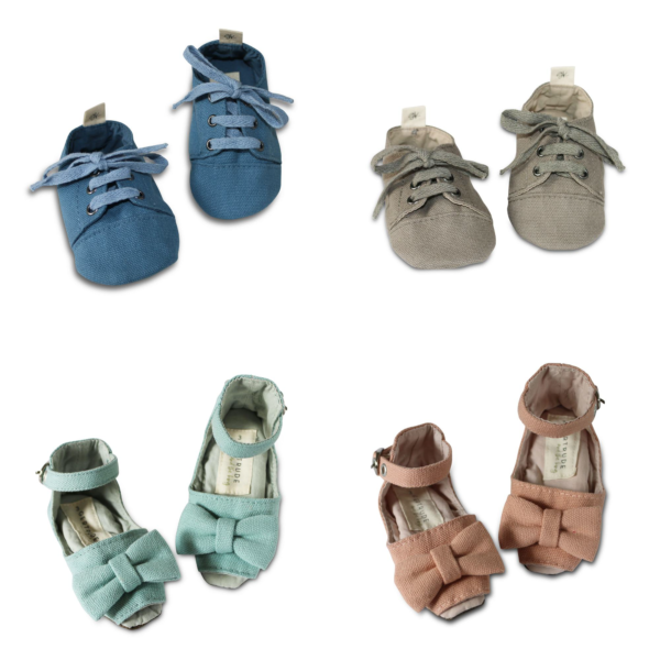 Gertrude and the King handmade soft sole baby shoes – Overview. #Myscallywag https://myscallywag.com.au/product/soft-sole-baby-shoes/