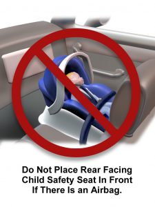baby capsule should not go in your front seat. Its dangerous if unless airbags are disabled.