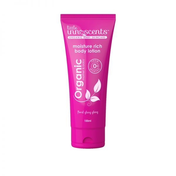 Little Innoscents Organic Body Lotion hydrates, nourishes & protects your baby's skin. It includes Sunflower & Avocado oils, & Shea Butter #myscallywag https://myscallywag.com.au/product/organic-body-lotion-by-little-innoscents /